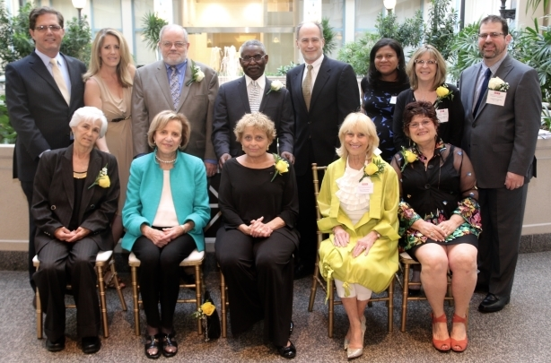 Top L to R:  Ronald Shaffer, Karen C. Buck, David Fair, Lovett Hines, Richard J. Conn, Syreeta J. Moore, Shari J. Odenheimer & Joseph B. Silverstein. Bottom L to R: Juanita Ramos, Honorable Phyllis Beck, Shelly Beaser, Tobey Gordon Dichter & Cynthia Wishkovsky.